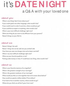 Love these great questions to use on my next date night!