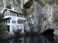 Dervish Monastery and Source of Buna River, Blagaj