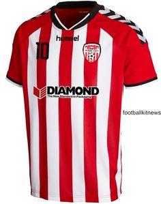 Derry City Hummel Home Jersey 2016 Soccer Shirts e2da18e42