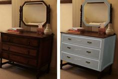 Design for upcycle for Victorian dressing table