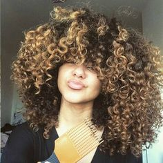 http://www.shorthaircutsforblackwomen.com/black-tea-rinse-for-hair/ Kinky curly hair madness, Natural hairstyles for black women. One Day, I will have my hair like this !