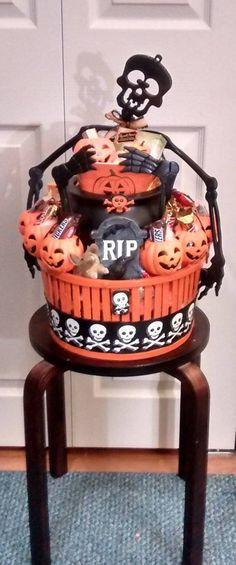 Halloween Tote bag, Halloween Gifts, Trick or Treat Tote Bag - decorate halloween bags