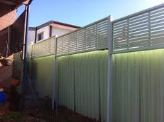Image result for colorbond fence extension