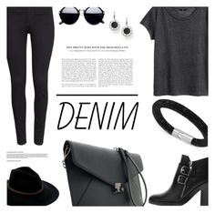 """""""#887"""" by lizzie-spence ❤ liked on Polyvore featuring H&M, Swarovski and Billabong"""