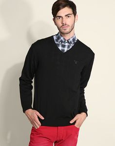 The latest men's fashion tips, style advice and grooming techniques broken down at FashionBeans. Latest Mens Fashion, Men Style Tips, Basic Style, Jumpers, Fashion Advice, Long Sleeve, Sleeves, Mens Tops, T Shirt