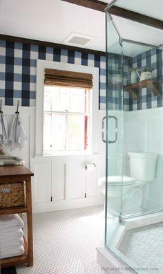 farmhouse style master bathroom renovation