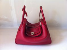 Hermes Lindy 30 Rouge Garrance Clemence