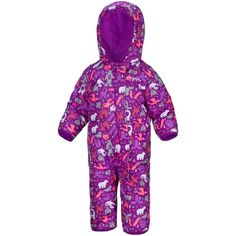 COLUMBIA Snuggly Bunny Bunting kid baby down snowsuit