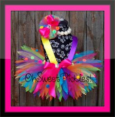 FRECKLES The Colorful Clown  HALLOWEEN COSTUME  door OhSweetPickles