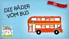 Die Räder vom Bus - Die besten Spiel - und Bewegungslieder || Kinderlieder German Grammar, German Language, Learn German, Help Teaching, Woodland Party, Holiday Cocktails, About Me Blog, Album, Musica