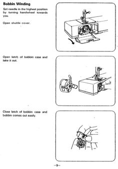 white 1505 and 1510 sewing machine threading diagram can i sew pinterest sewing sewing. Black Bedroom Furniture Sets. Home Design Ideas