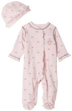 Little Me Little Princess Footie, Pink Multi, Newborn Little Me. $12.00