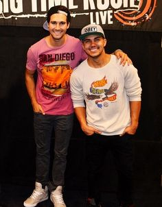 james maslow & carlos pena jr; big time rush