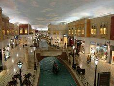 Volcano mall in Doha, Qatar