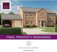 House Gardens, New Builds, Yorkshire, New Homes, Home And Garden, Construction, Touch, Mansions, Website