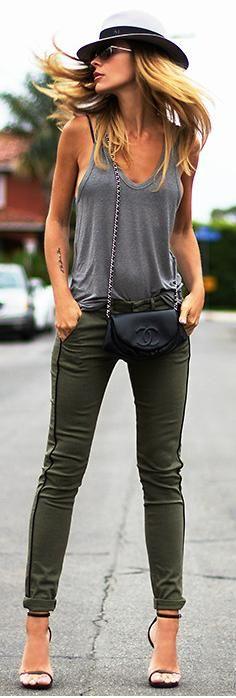 Green + Grey Chic