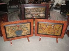 Folk Art Fireboards