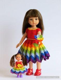 Мои Цветочные фантазии. Игровые куклы от Paola Reina / Paola Reina, Antonio Juan и другие испанские куклы / Бэйбики. Куклы фото. Одежда для кукол