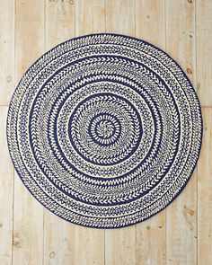 Family room? Garnet Hill Fair Isle Hooked Wool Rug