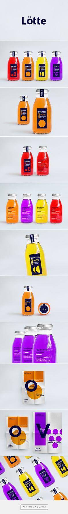 Lotte Juice Packaging by Anastasia Bakusheva   Fivestar Branding Agency – Design and Branding Agency & Curated Inspiration Gallery