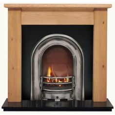 Coronet and Pine Lincoln Wooden Fireplace - Wood Fireplaces - Fireplace Packages Wooden Fireplace, Gas Fireplace, Fireplaces, Granite Hearth, Granite Tile, Fire Surround, Buy Wood, Gas Fires, Traditional House