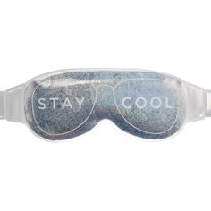Stay cool and stay beautiful with this Glitter And Chill Cooling Mask