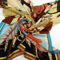 Design a Silk Scarf for Hermes