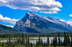 After 2 weeks of driving across Canada I found my favourite view. Banff Alberta. [OC] [60004000] #reddit