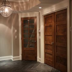 Trim on pinterest white trim small attic bathroom and doors for Combining stained and painted trim