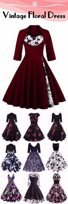 #Vintage #Fancy #Dress Up To 88% OFF | Start From $2.99 | Sammydress.com