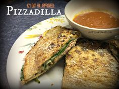 Try this awesome, quick and healthy pizza alternative, a Pizzadilla! This is also a 21 Day Fix approved recipe! Not to mention...totally kid and husband friendly! Add me on Facebook.com/angelinerstetzko to get new recipes every Wednesday!
