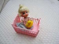 Vintage Mattel Liddle Kiddles Larky Locket Doll Only Baby Locket ...