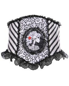 White Belt Skull Themed for Halloween Different Designs