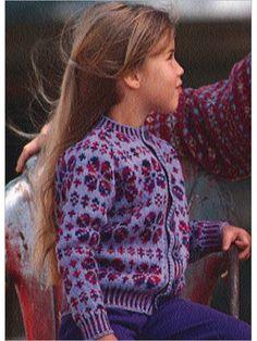Child's Faux Fair Isle - Interweave