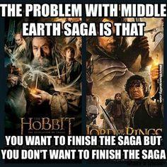 Saga #funny #memes #truestory #trilogy #lordoftherings #lotr #thehobbit #movie #tolkien #jrrtolkien