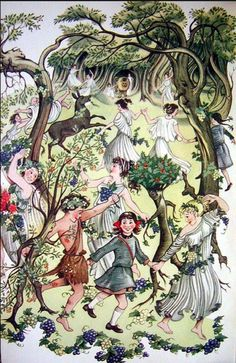 The Romp with the Fauns, Pauline Bayles from Prince Caspian, C.S. Lewis