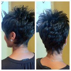 selecting-your-perfect-pixie-haircut - Fab New Hairstyle 2 Short Spiky Hairstyles, Short Hairstyles For Women, Hairstyles Haircuts, Pixie Haircuts, Hairdos, Hairstyle Short, Short Razor Haircuts, School Hairstyles, Hair Styles 2016
