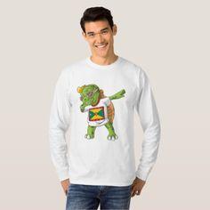 Grenada Dabbing Turtle T-Shirt  $25.65  by Soulrider  - cyo customize personalize diy idea