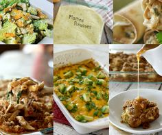 Too much turkey? Take those leftovers and turn them into freezer meals to save you time and money. Chicken Freezer Meals, Freezer Friendly Meals, Make Ahead Freezer Meals, Easy Chicken Recipes, Crockpot Recipes, Easy Meals, Cooking Recipes, Thanksgiving Leftovers, Thanksgiving Recipes