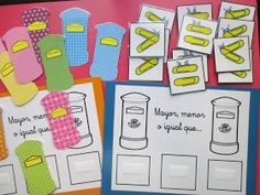 Escuela con Vida: Paco, el cartero matemático Classroom Projects, Montessori, Math, Games, Ideas Para, Spanish, Math Centers, Numbers Preschool, Means Of Communication