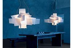 Big Bang Fluorescent Suspension Lamp by Enrico Franzolini & Vicente Garcia Jimenez for Foscarini | Space Furniture