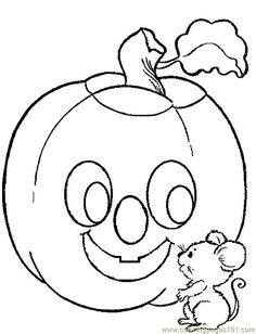 print and color the pumpkin color page a halloween color page coloring pages for kids thousands of free printable coloring pages for kids - Garfield Halloween Coloring Pages