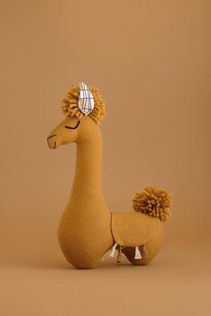 Mustard Llama Stuffed Animal, Nursery Llama Decor by SUNandCo – Monkey Stuffed Animal Llama Stuffed Animal, Stuffed Animals, Boho Baby Shower, Lama Animal, Baby Toys, Kids Toys, Alpacas, Llama Decor, Hand Craft Work