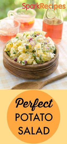 Pull this potato salad right out of your garden (or the farmer's market). So delicious and it makes a great picnic food. Try our healthy take on an old classic today!