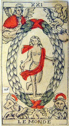 Tarot de Marsella, versión de Rochus Schar, 1750, Suiza.