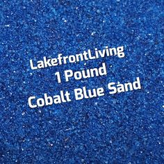 Items similar to Blue Sand for Wedding Unity Sand Ceremony - Cobalt Blue Colored Sand - 1 Pound on Etsy Unity Sand, Sand Ceremony, Colored Sand, Cobalt Blue, Wedding, Diy Colored Sand, Valentines Day Weddings, Weddings, Marriage