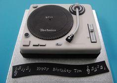 Record Deck Cake - Price band 1