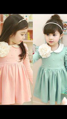 Moda coreana infantil
