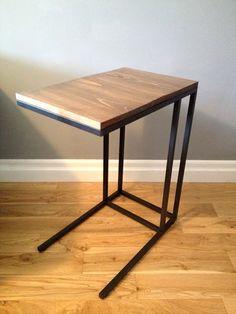 VITTSJÖ Support pr portable  - IKEA à couvrir d'un panneau en vieux bois d'échafaudage #myIKEAbedroom