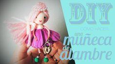 DIY: Cómo hacer una muñeca de alambre.                                                                                                                                                                                 Más